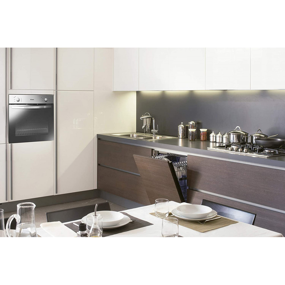Candy Fcs 100 X Oven Elektrische Oven 71 L Roestvrijstaal A